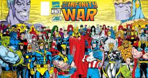 Infinity War Marvel Comics Avengers Jim Starlin Ron Lim
