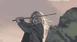 Sword Daughter written by Brian Wood Illustrated by mack Chater Published by Dark Horse Comics comic book