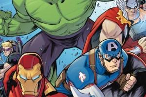Marvel Action Avengers #1, Matthew K. Manning, Jon, Sommariva, IDW Publishing, Marvel Comics, Avengers, comic book, first issue