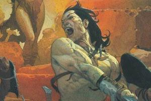 Conan the Barbarian #1, Conan, Conan the Barbarian, comic book, first issue, Jason Aaron, Mahmud Asrar, Marvel Comics
