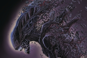 Aliens: Dead Orbit, Oversized Hardcover, Written and Illustrated By, James Stokoe, Published By, Dark Horse Comics