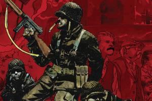 Six Days: The Incredible True Story of D-Day's Lost Chapter, H/C, Robert Venditti, Kevin Maurer, Andrea Mutti, Vertigo Comics