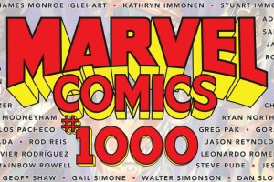 Marvel Comics #1000, Marvel Comics, 80th Anniversary, comic books, superheroes