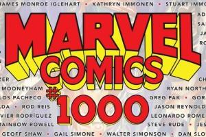 Marvel Comics #1000, Marvel Comics, 80th Anniversary, comic books, superheroes