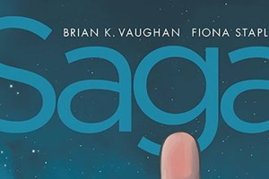 Saga Compendium Vol 1, Brian K. Vaughan, Fiona Staples, Image Comics, Saga, Saga Compendium Volume 1, Science fiction, sci-fi, fantasy, comic book, collection