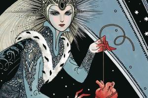 Snow Glass Apples, Neil Gaiman, Colleen Doran, Dark Horse Comics, Comic Book adaptation, prose, short story, art, graphic novel, hardcover