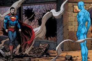 Doomsday Clock, Doomsday Clock #12, DC Comics, Geoff Johns, Gary Frank, Watchmen, Alan Moore, Dave Gibbons, Superman, Batman, Dr. Manhatten